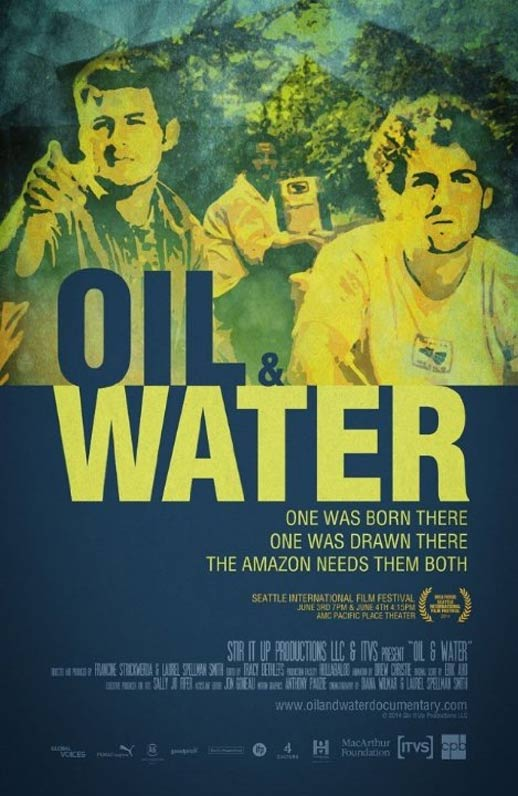 Oil & Water Poster #1
