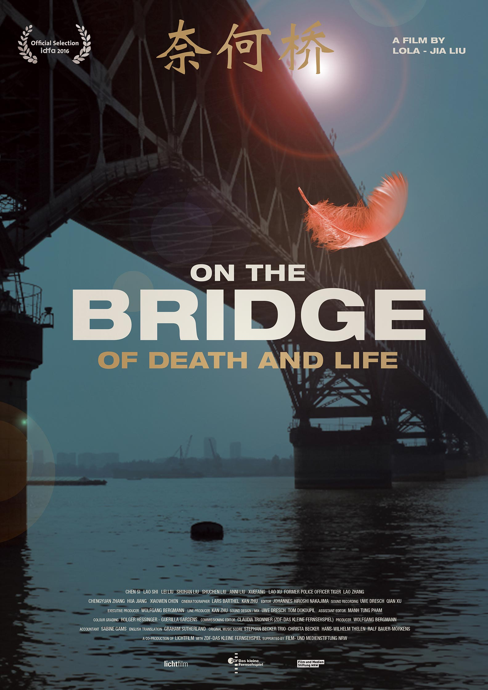 On the Bridge of Death and Life Poster #1
