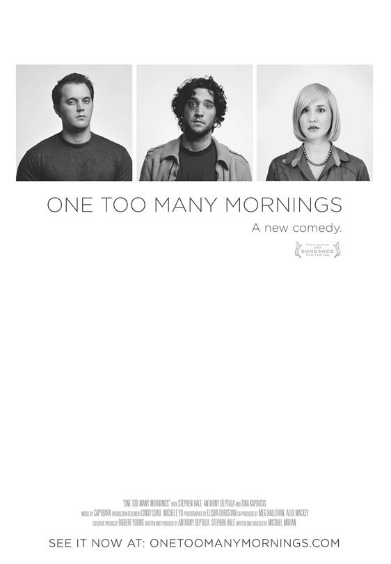 One Too Many Mornings Poster #1