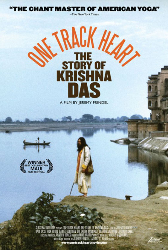 One Track Heart: The Story of Krishna Das Poster #1
