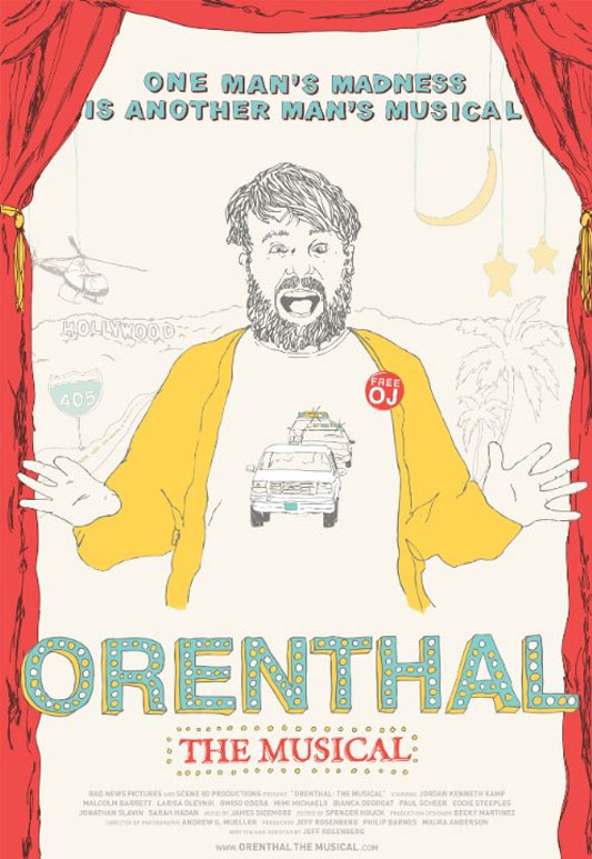Orenthal: The Musical Poster #1