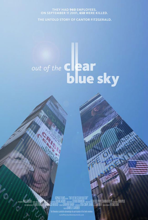 Out of the Clear Blue Sky Poster #1