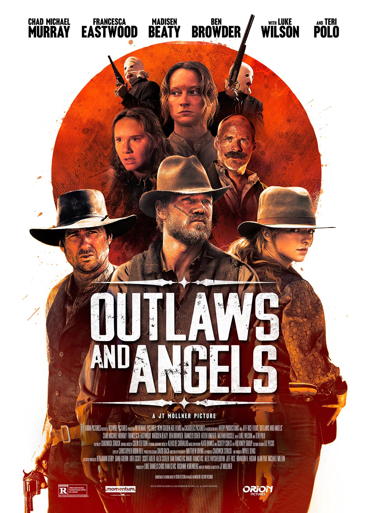 Outlaws and Angels Poster #2
