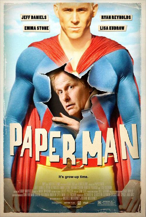 Paper Man Poster #2