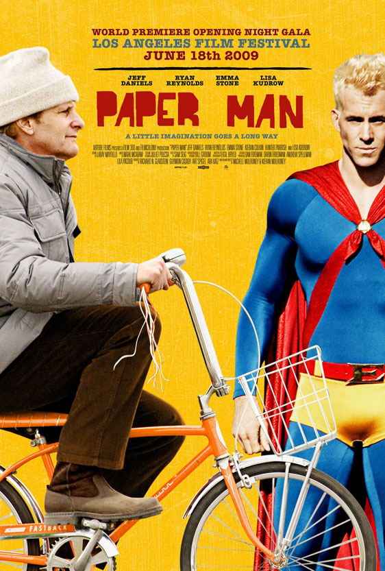 Paper Man Poster #1