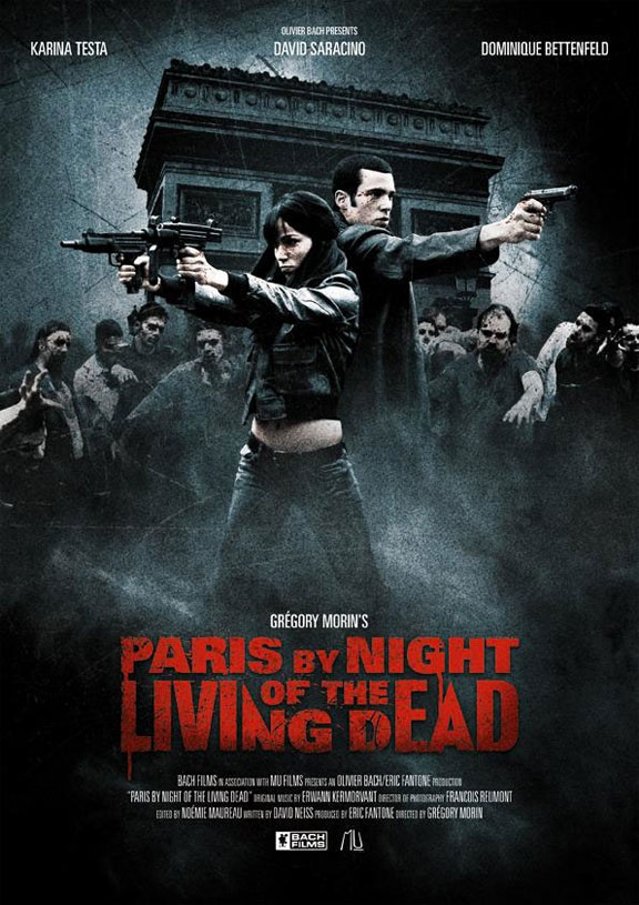 Paris by Night of the Living Dead Poster #1