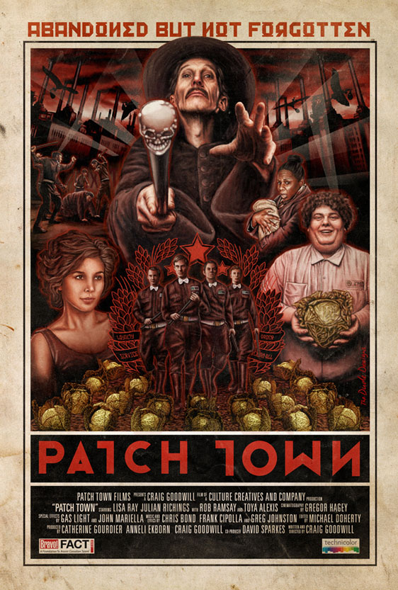 Patch Town Poster #1