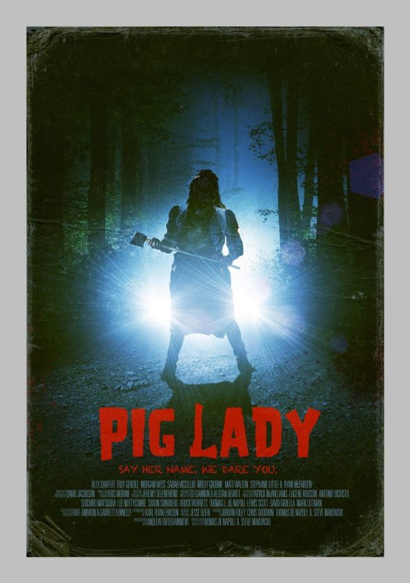 Pig Lady Poster #1