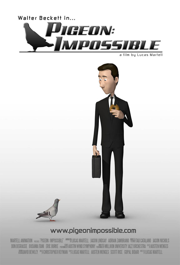 Pigeon: Impossible Poster #1
