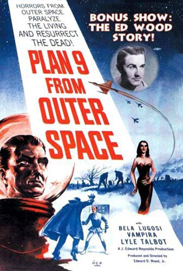 Plan 9 from Outer Space Poster #1