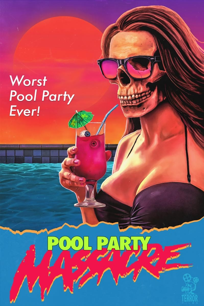 Pool Party Massacre Poster #1