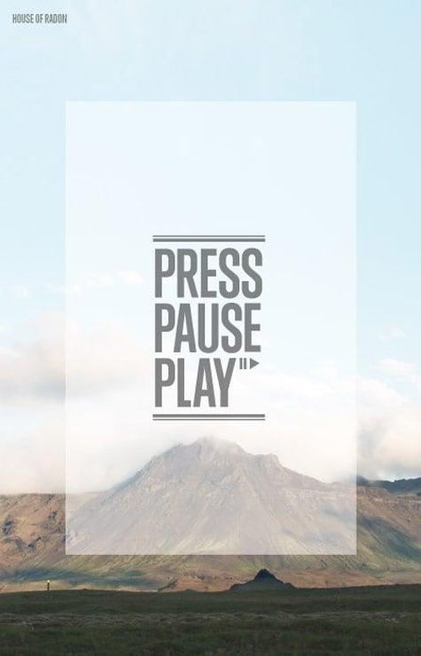 PressPausePlay Poster #1