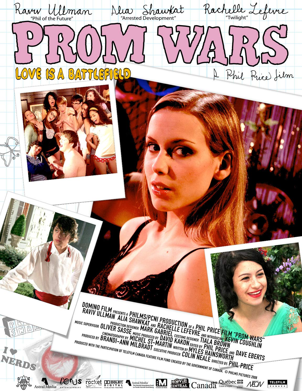 Prom Wars: Love Is a Battlefield Poster #1