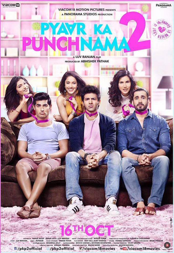 Pyaar Ka Punchnama 2 Poster #1