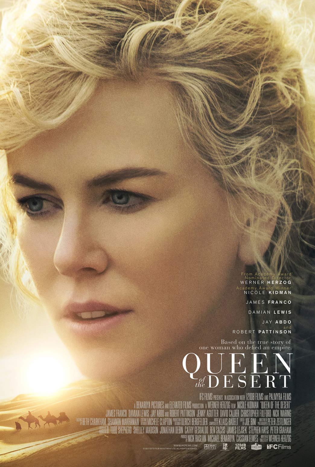 Queen of the Desert Poster #3