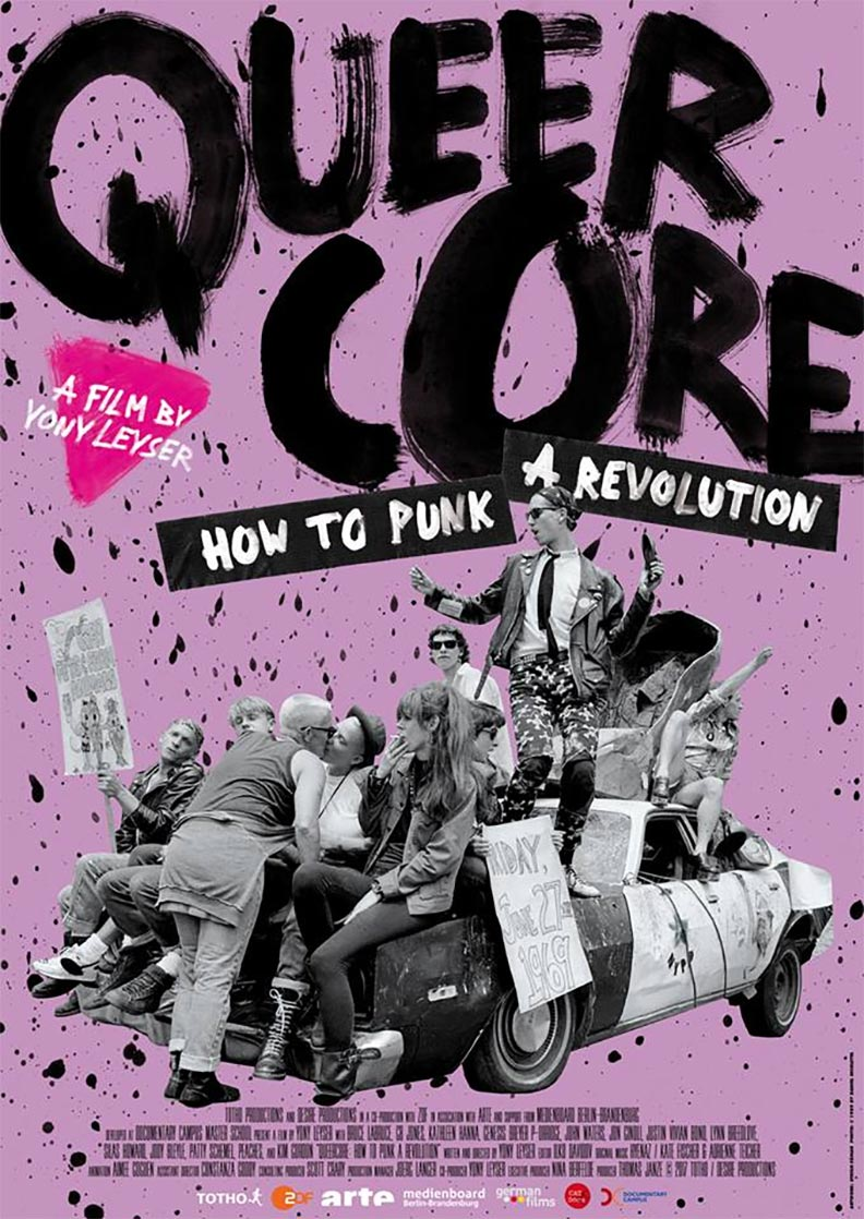 Queercore: How to Punk a Revolution Poster #1
