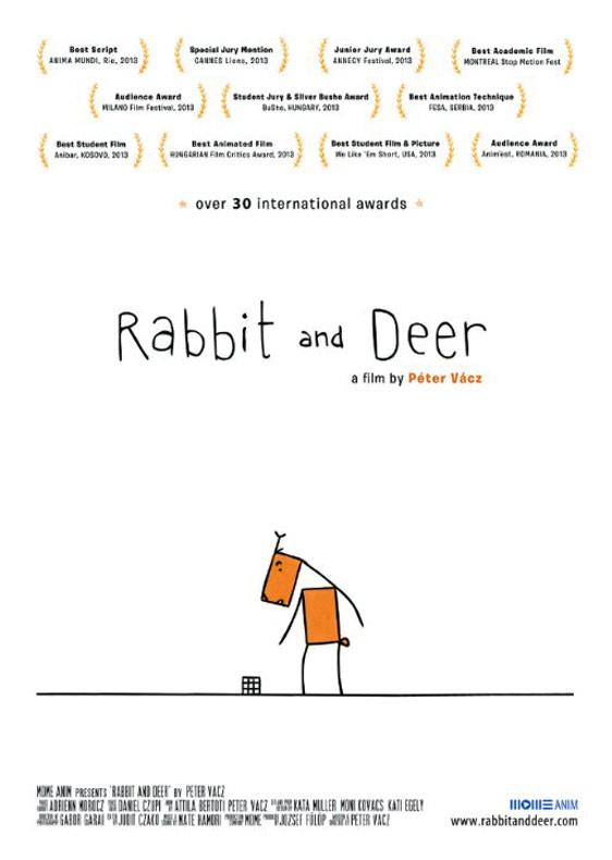 Rabbit and Deer Poster #1