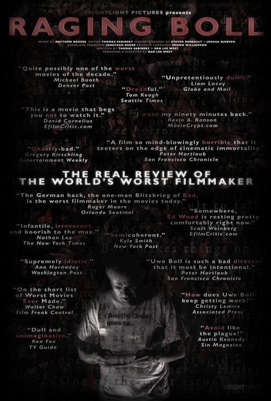 Raging Boll Poster #1