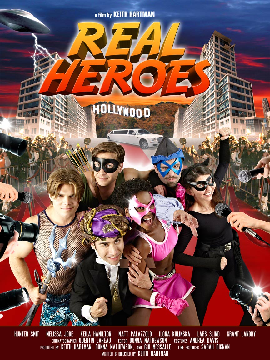 Real Heroes Poster #1
