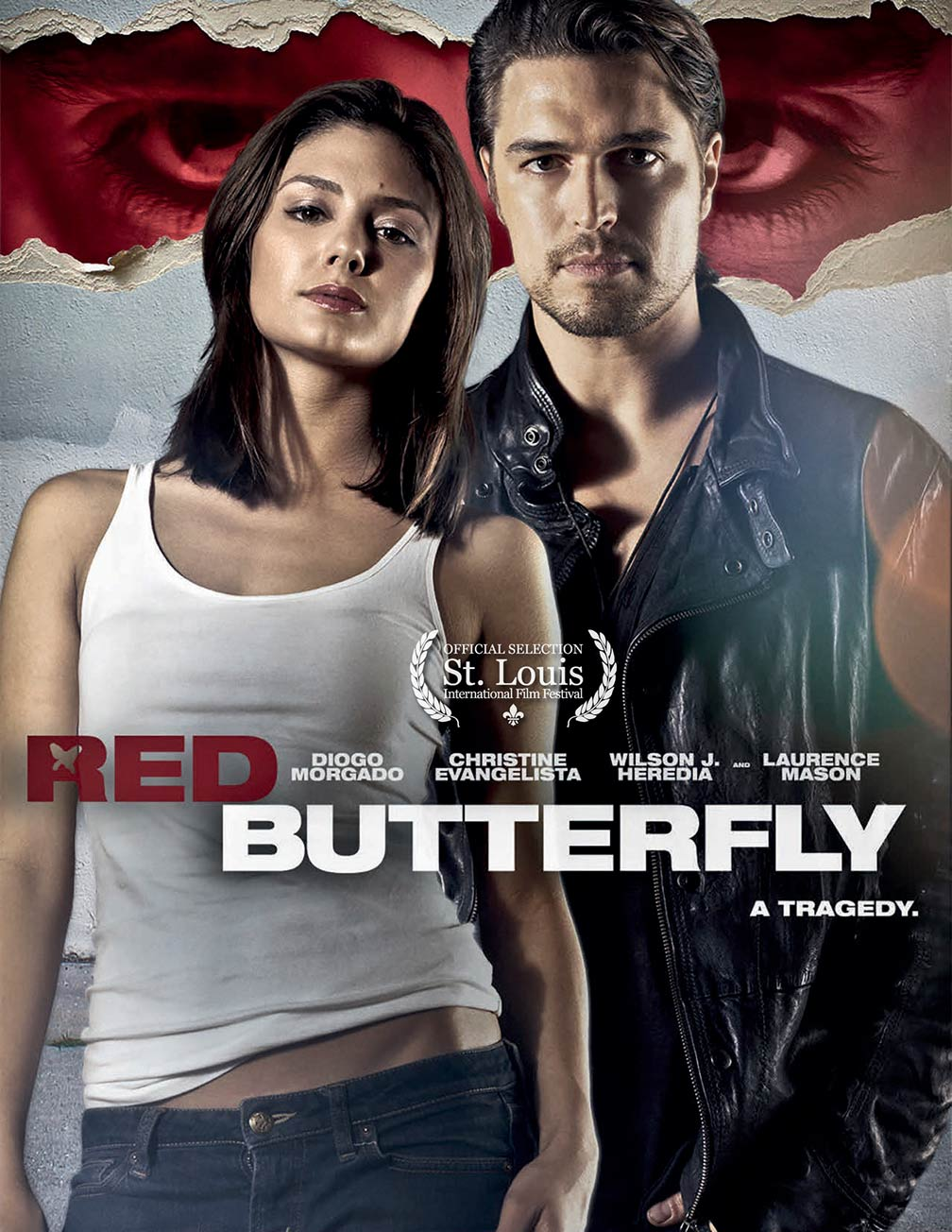 Red Butterfly Poster #1