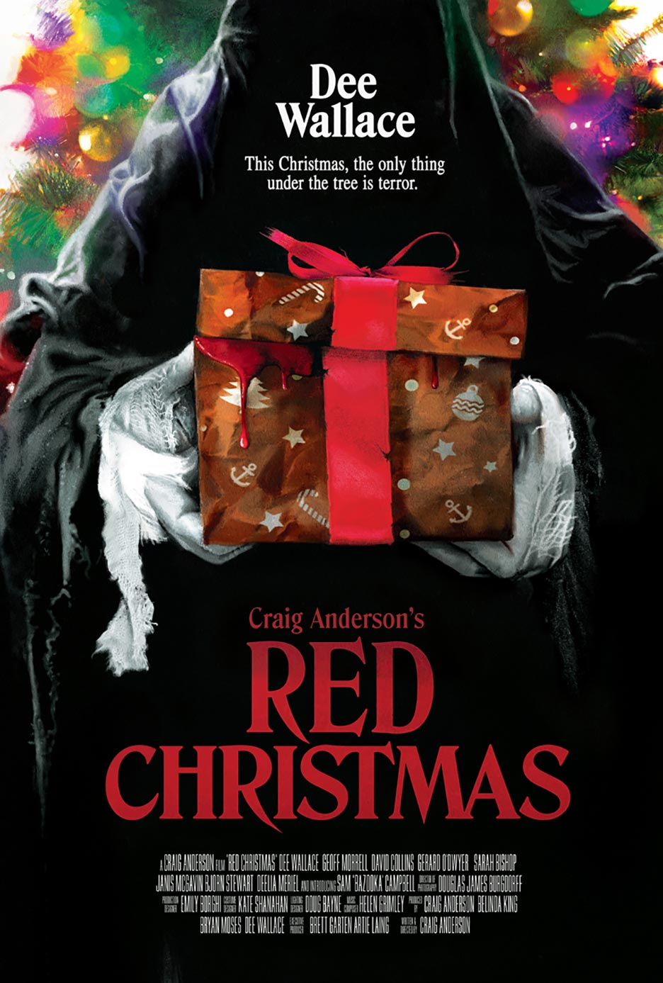 Red Christmas Poster #1