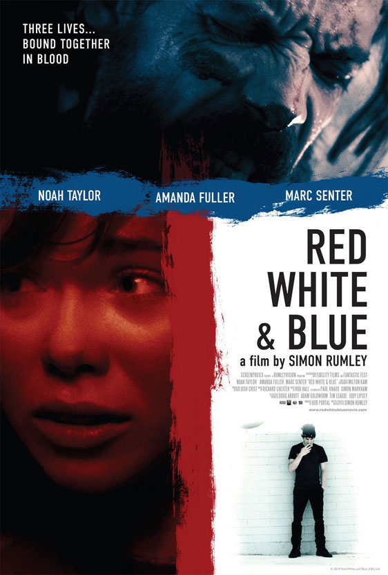 Red White & Blue Poster #1