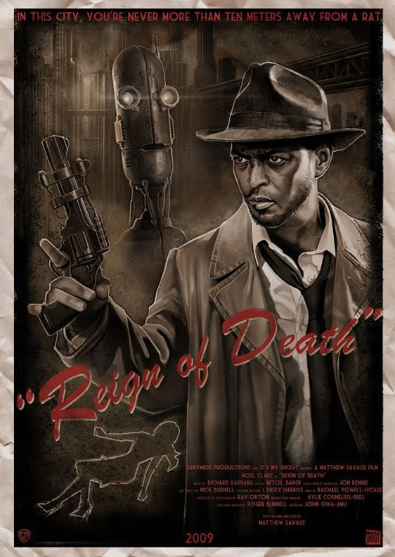 Reign of Death Poster #1