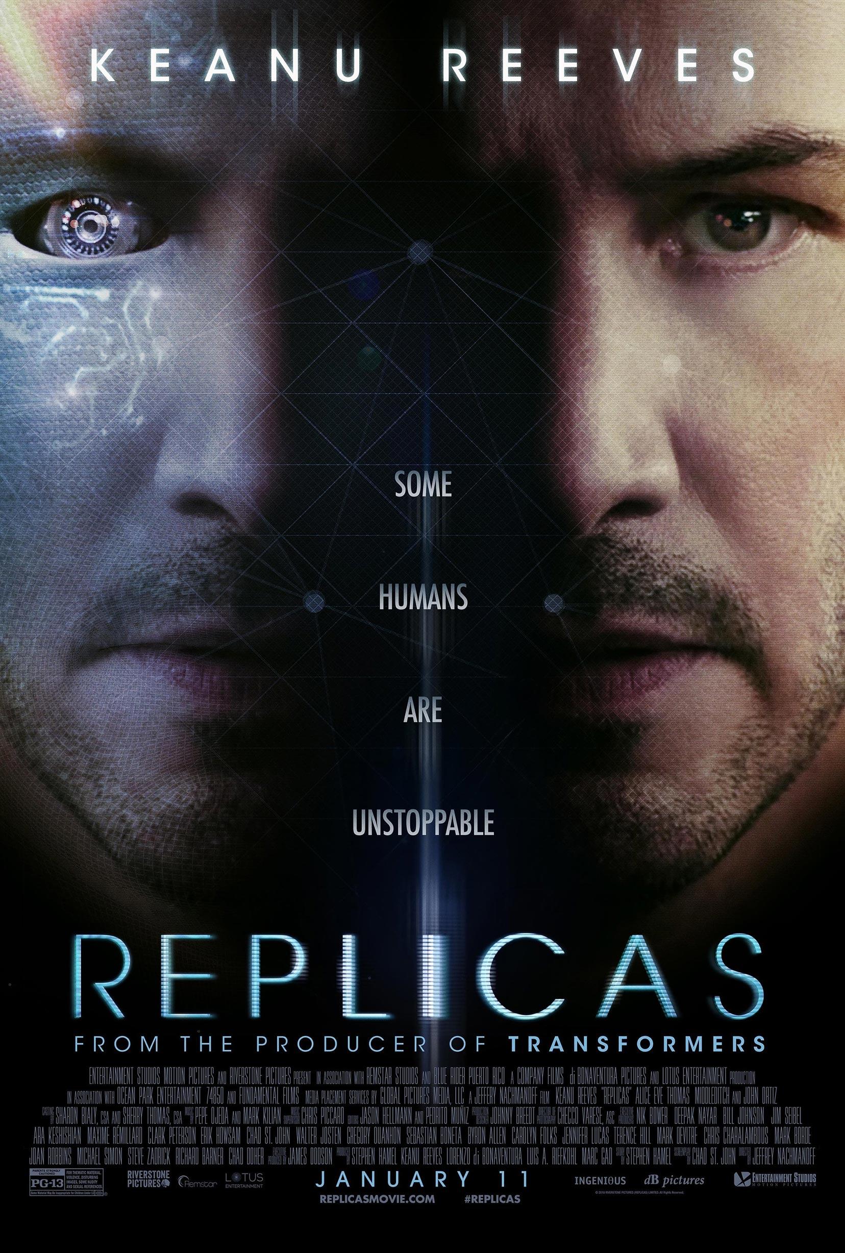 Replicas Poster #1