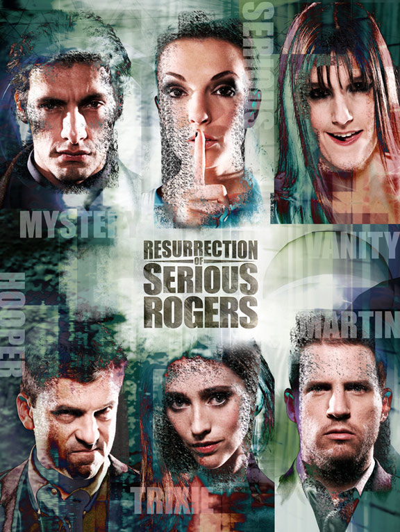Resurrection of Serious Rogers Poster #1