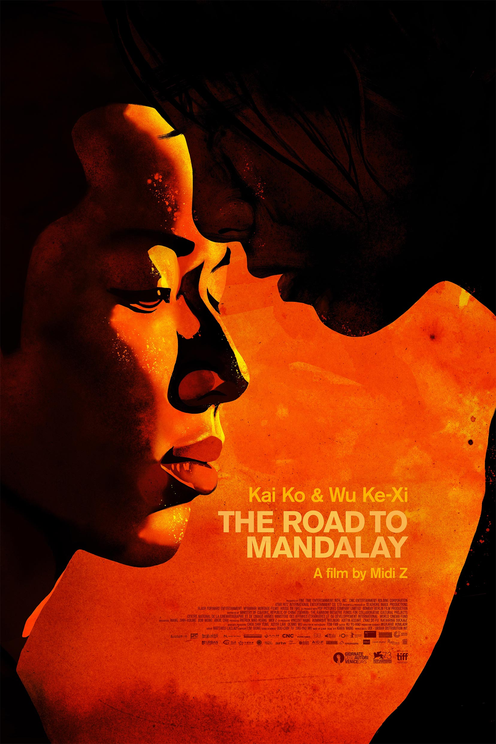 The Road to Mandalay Poster #1