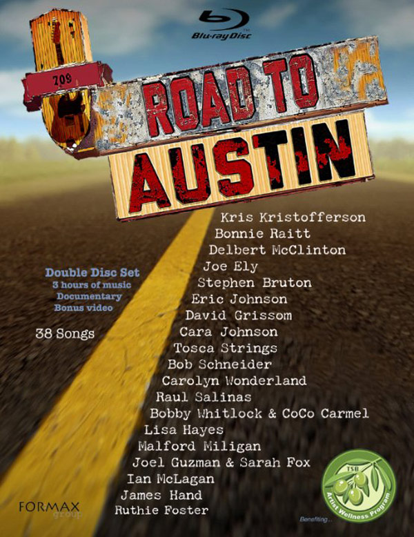 Road to Austin Poster #1