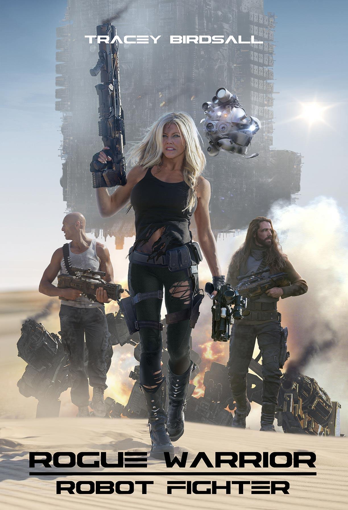 Rogue Warrior: Robot Fighter Poster #1