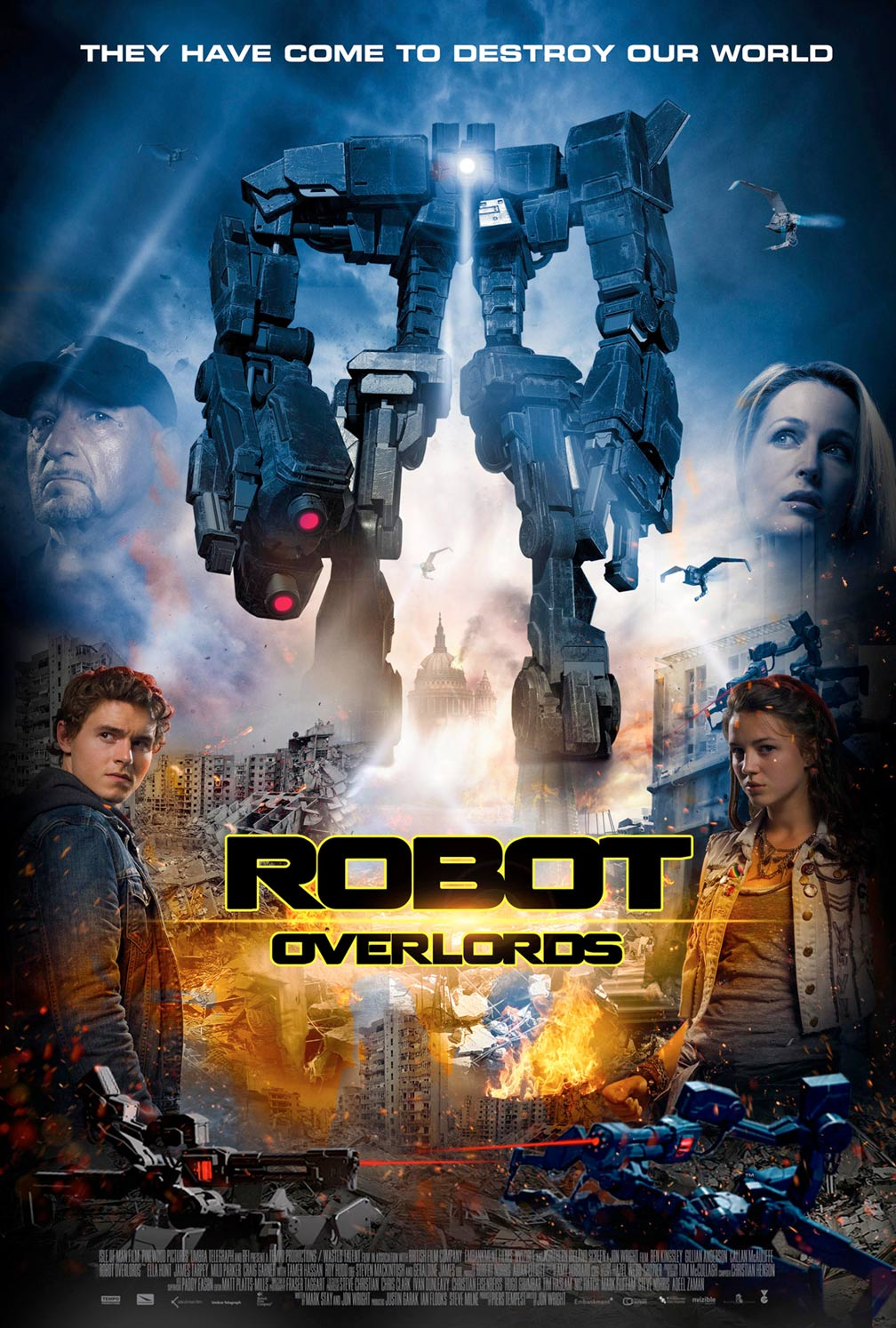 Robot Overlords Poster #1