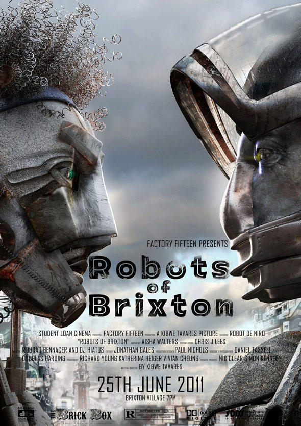 Robots of Brixton Poster #1