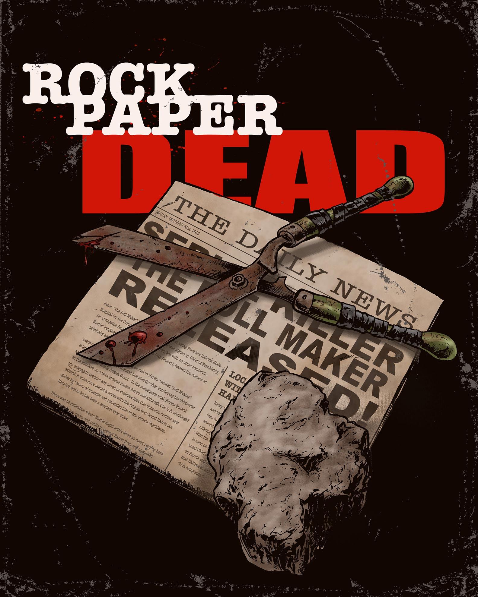 Rock Paper Dead Poster #1