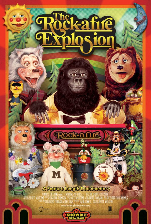 The Rock-afire Explosion Poster #1