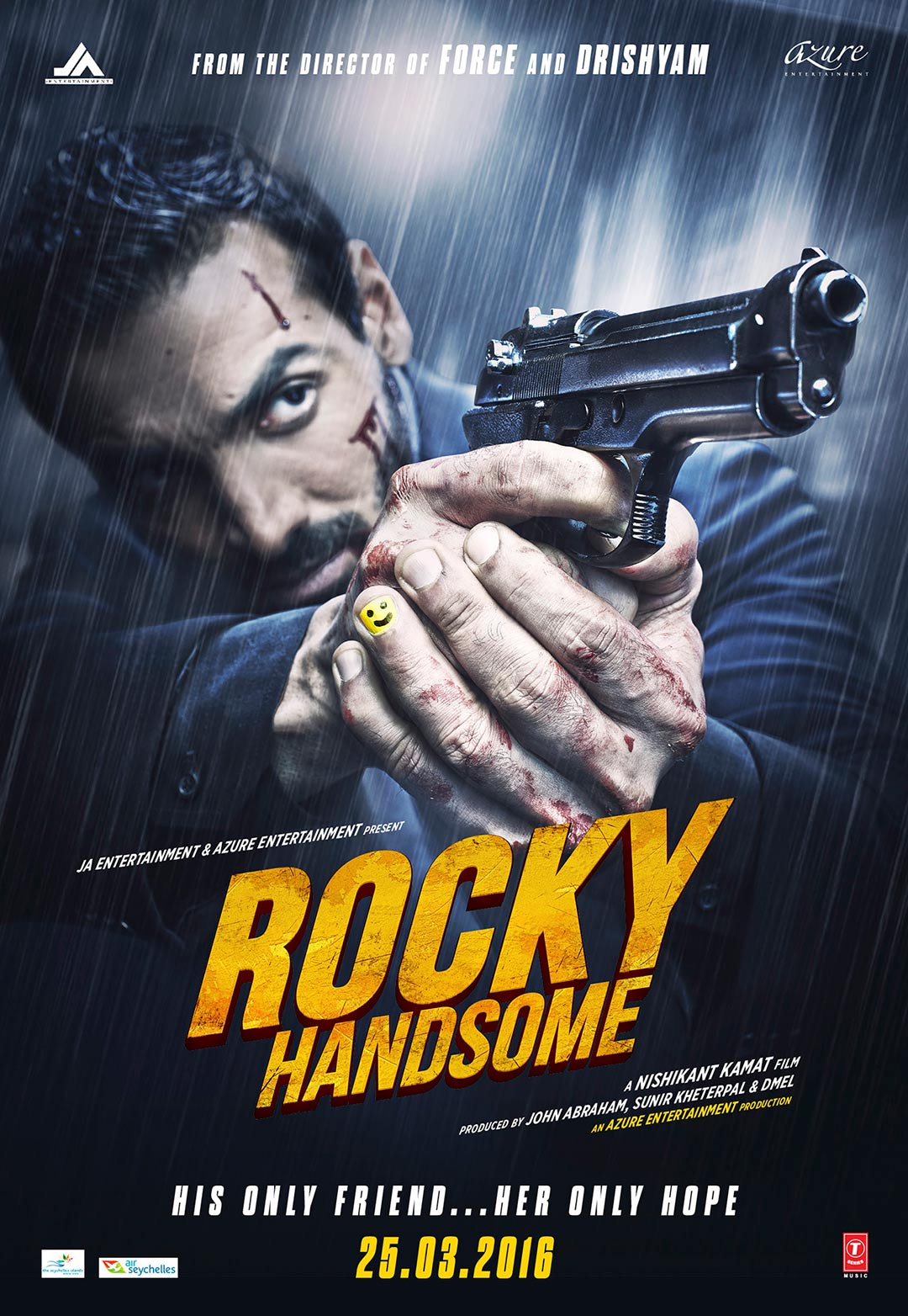 Rocky Handsome Poster #1