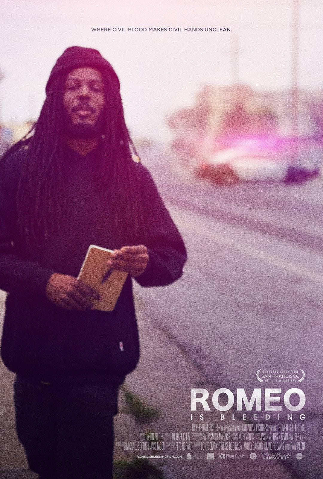 Romeo Is Bleeding Poster #1