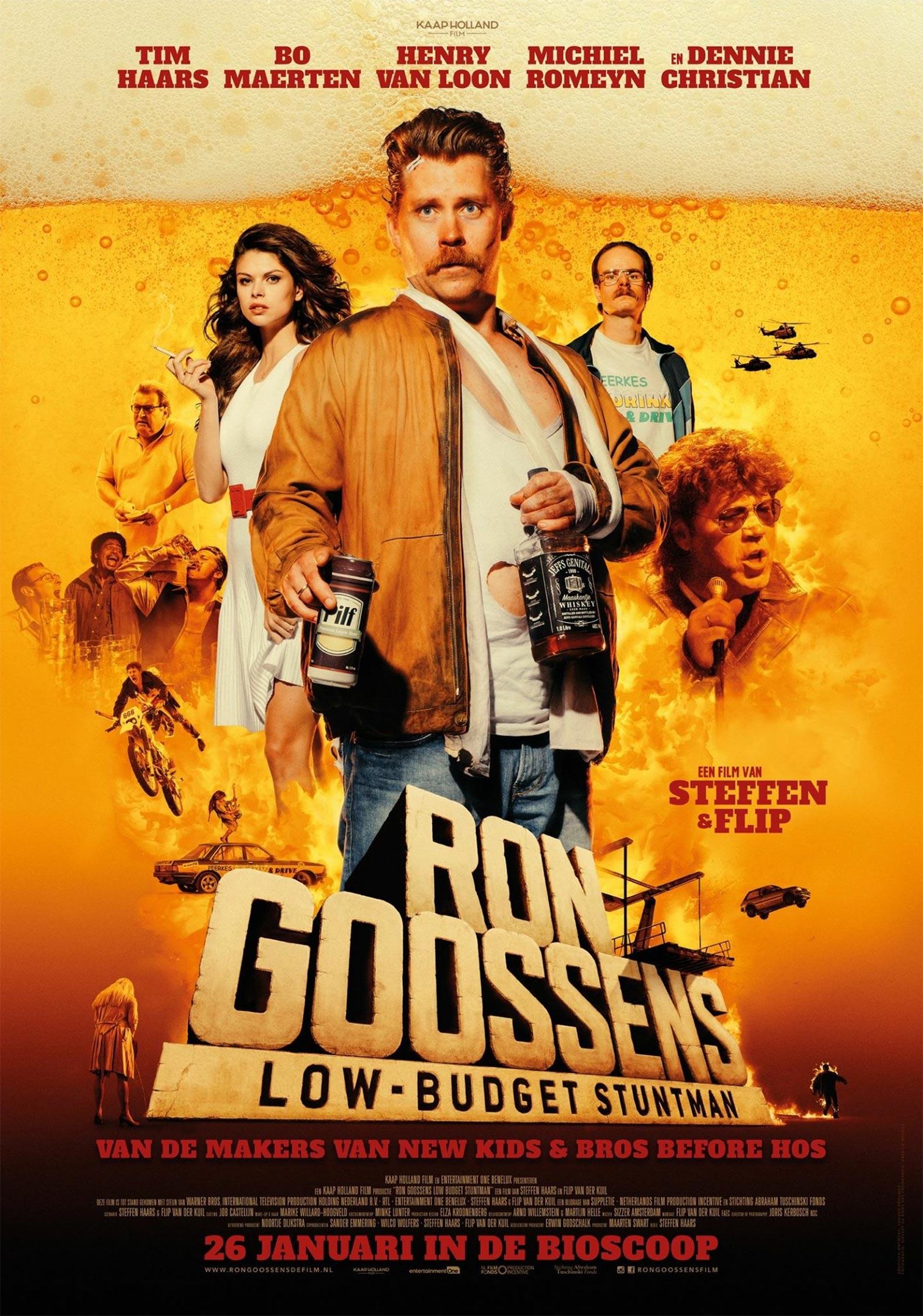 Ron Goossens, Low Budget Stuntman Poster #1