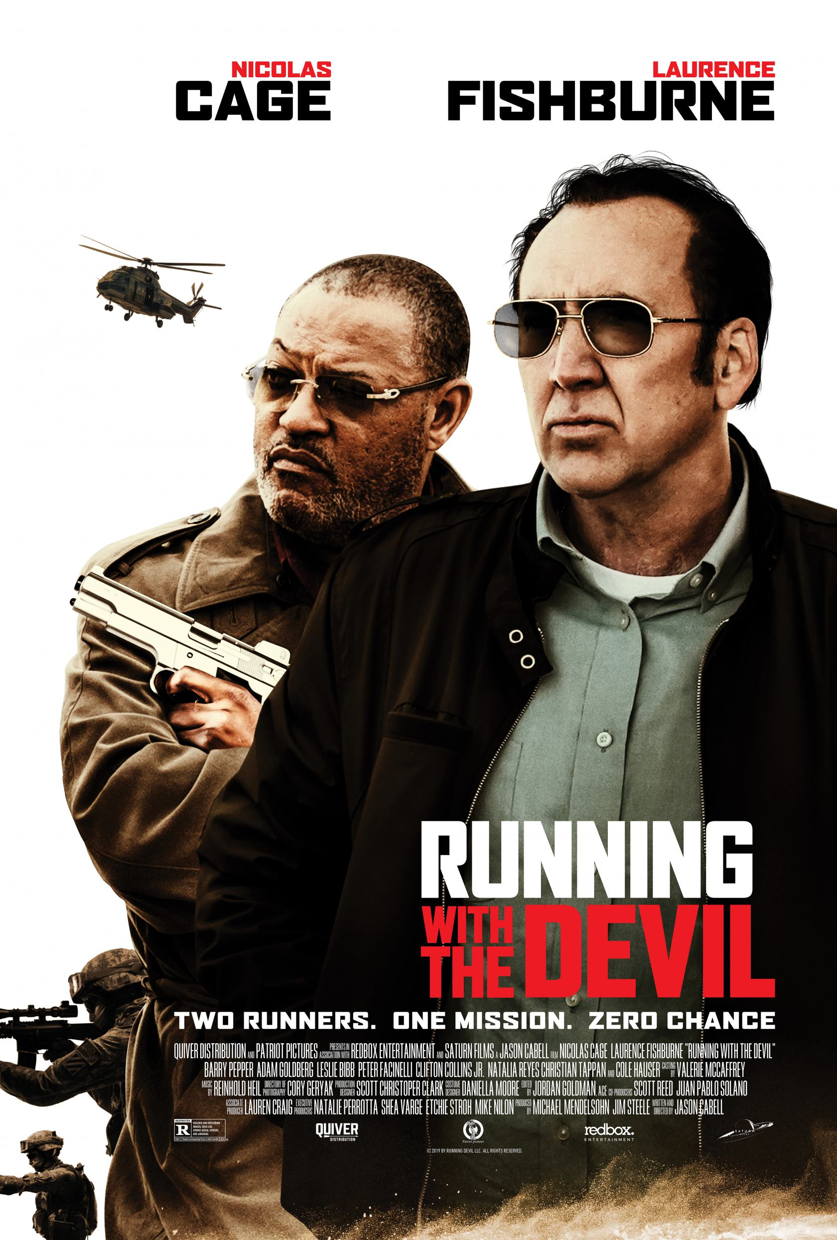 Running with the Devil Poster #1