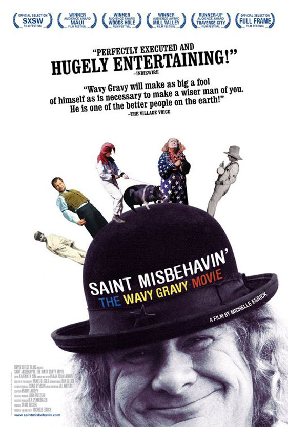 Saint Misbehavin: The Wavy Gravy Movie Poster #1