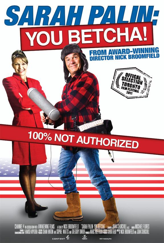 Sarah Palin - You Betcha! Poster #1