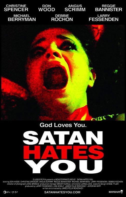 Satan Hates You Poster #1