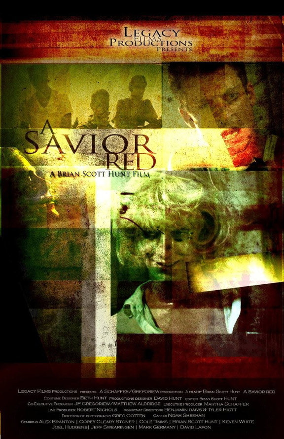 A Savior Red Poster #1
