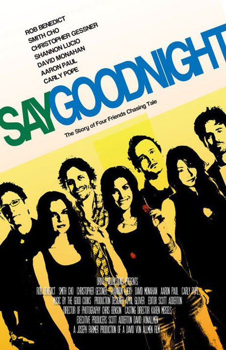 Say Goodnight Poster #1