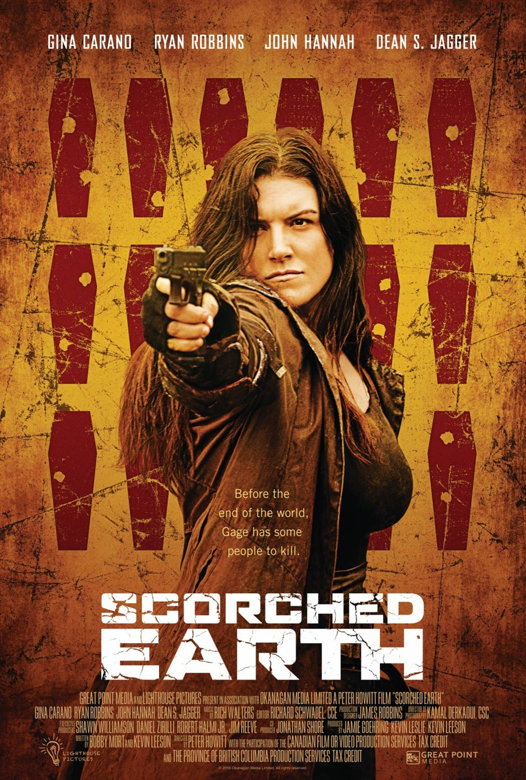 Scorched Earth Poster #1