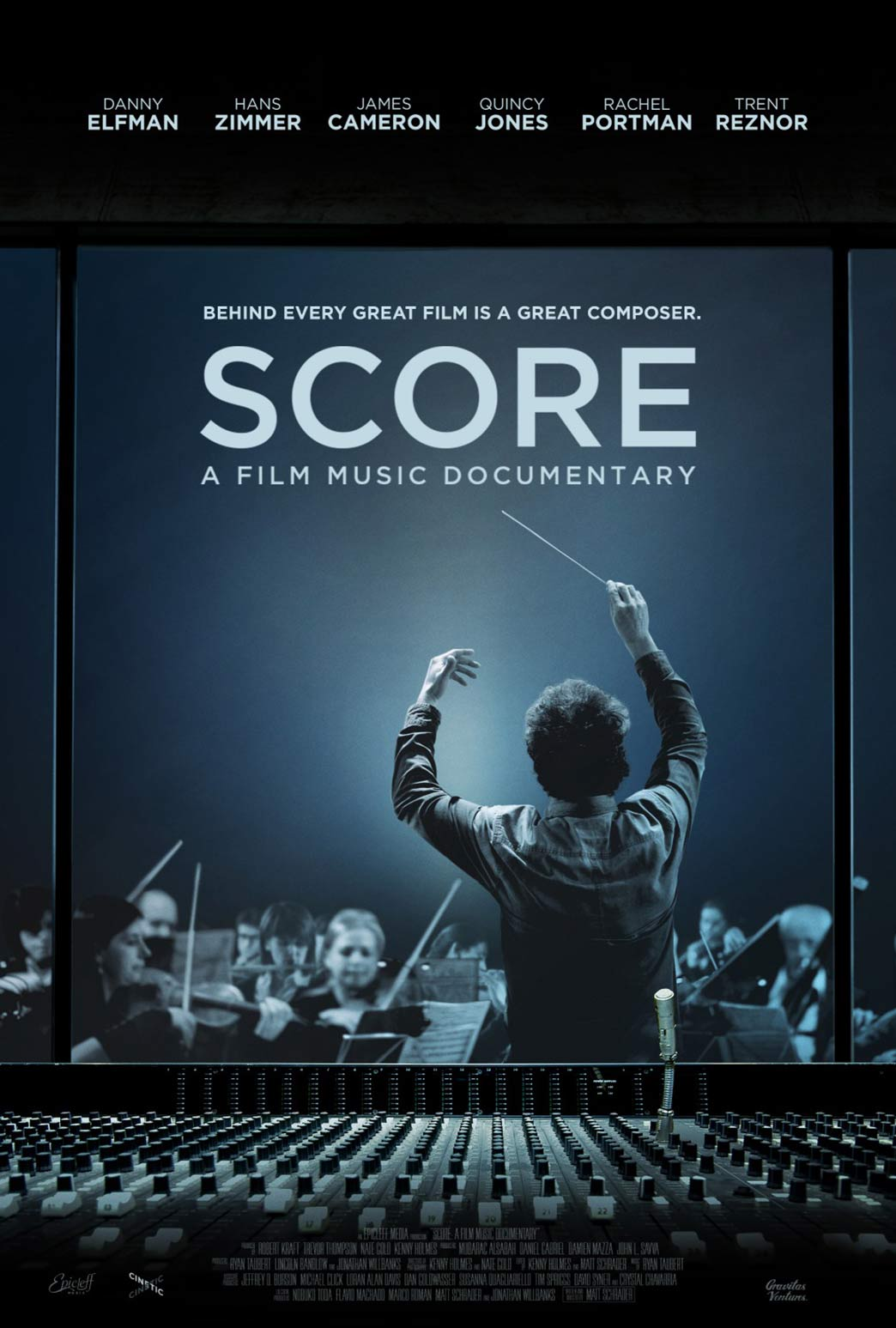 Score: A Film Music Documentary Poster #2
