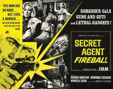 Secret Agent Fireball (Le spie uccidono a Beirut) Poster #1
