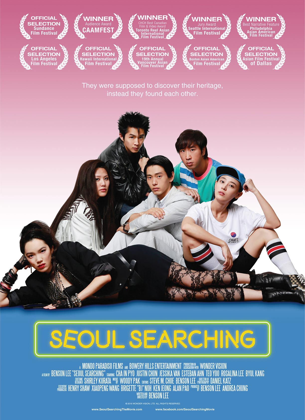 Seoul Searching Poster #1