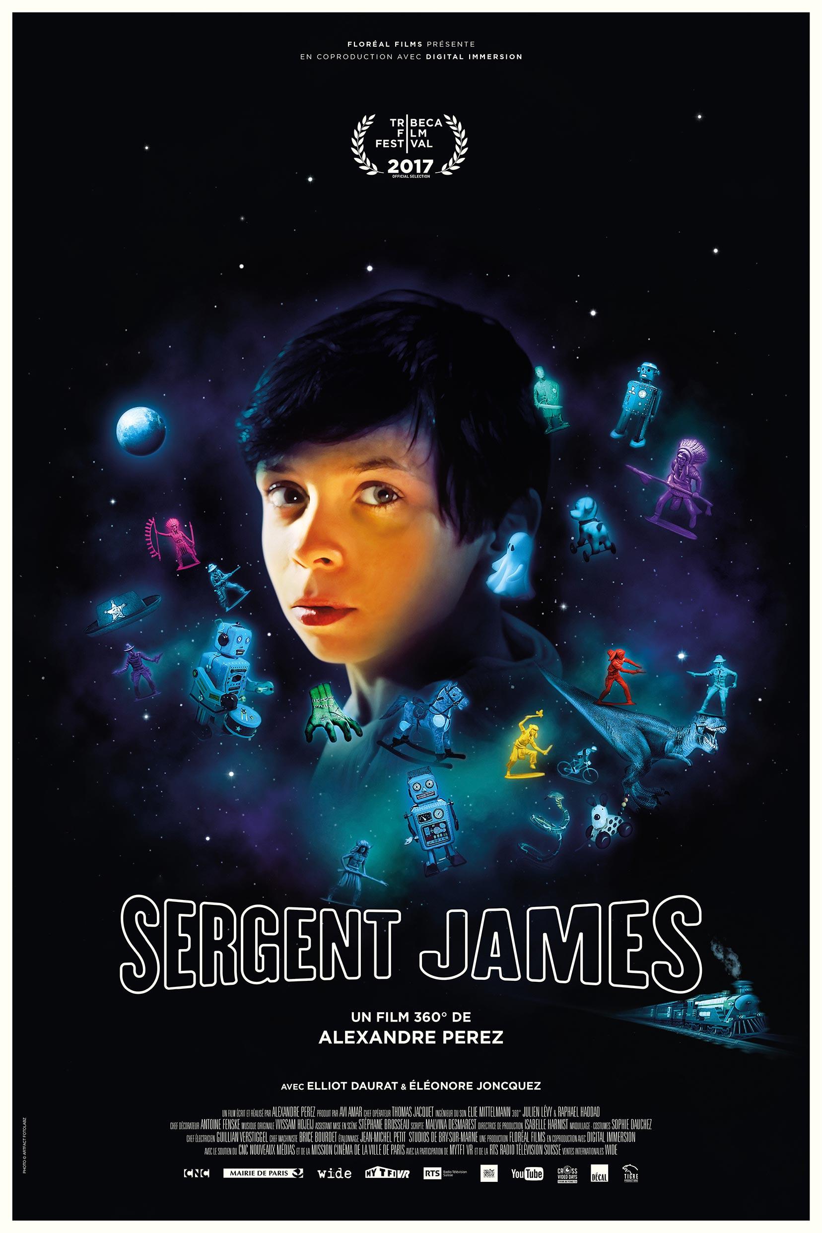 Sergent James Poster #1